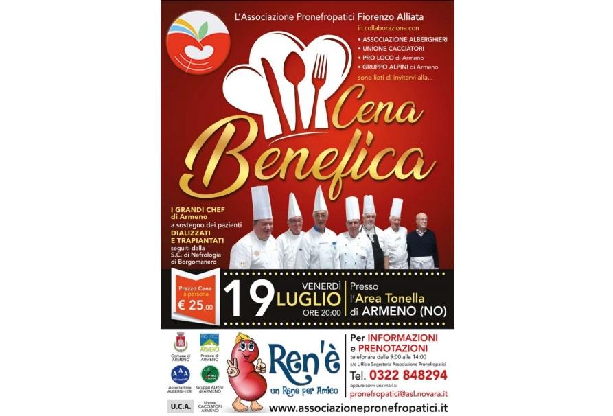 Cena Benefica – Armeno 2019