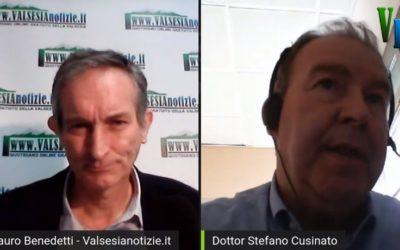 Valsesia Notizie intervista il Dott. Cusinato, Presidente della nostra Associazione